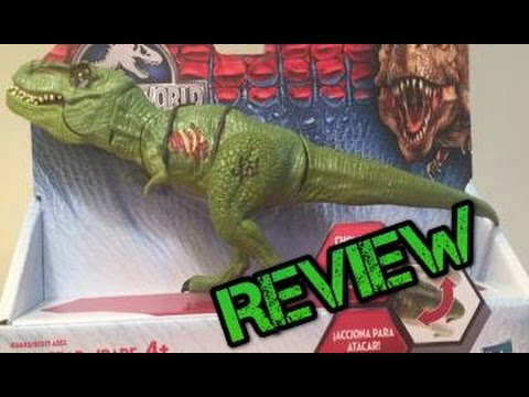 Jurassic World Bashers And Biters Green T Rex Review Youtube