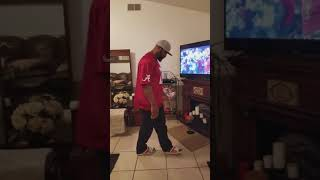 Alabama Win ,Watching A  Third Time