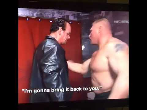 Pics For > Brock Lesnar And Goldberg Friends