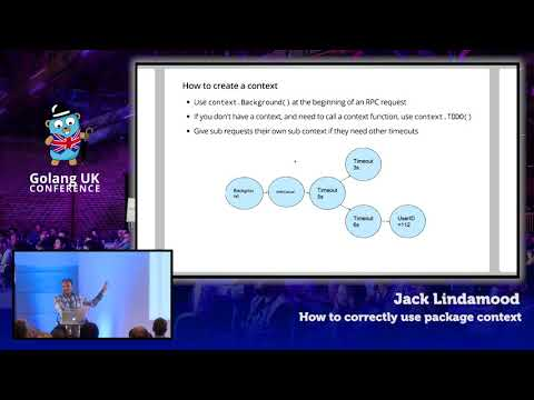 Golang UK Conference 2017 | Jack Lindamood - How to correctly use package context