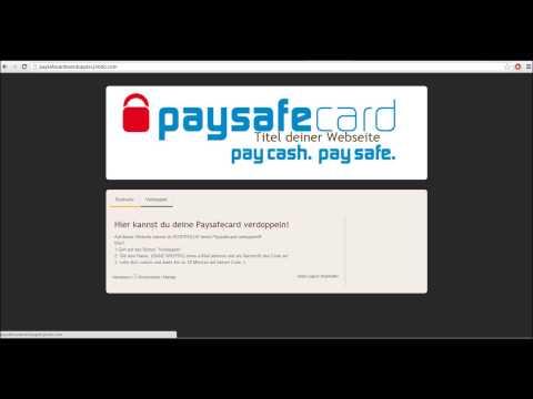 paysafe card werte