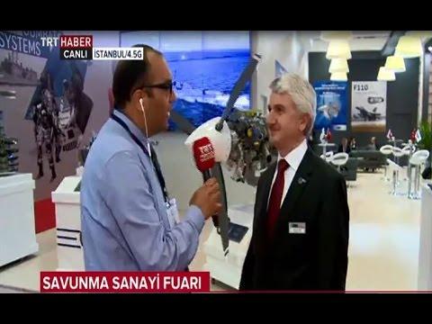 TEI Genel Müdürü Prof. Dr. Mahmut F. Akşit'in IDEF 2017'de TRT Haber'e Verdiği Röportaj