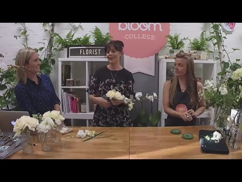 Wedding Flowers | Flower Crown and Corsage - Bloom TV LIVE 14/3/17