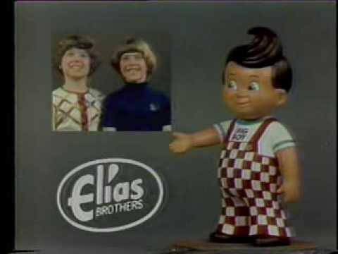 Elias Brothers Big Boy Restaurants 1977 TV commercial