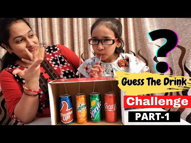 Guess the Drink Challenge game | #LearnWithPari @Learn With Pari
