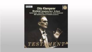 Bruckner Te Deum in C major   2  Te ergo, quaesumus