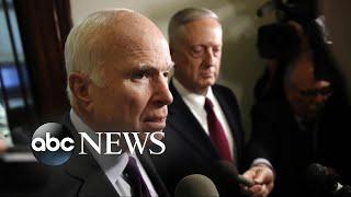 Defense Secretary Mattis briefs members of Congress on deadly Niger mission