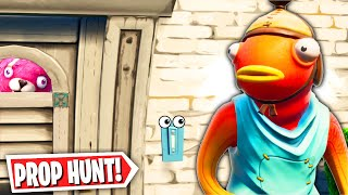 OK.. this might be considered cheating in Prop Hunt! (Fortnite Creative Mode)