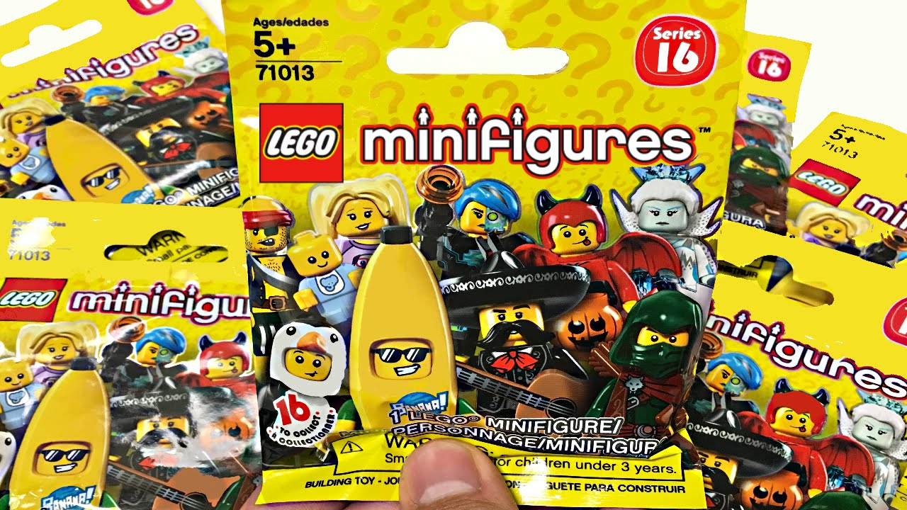 Lego Minifigures Series 16 6 Blind Bag Opening Youtube