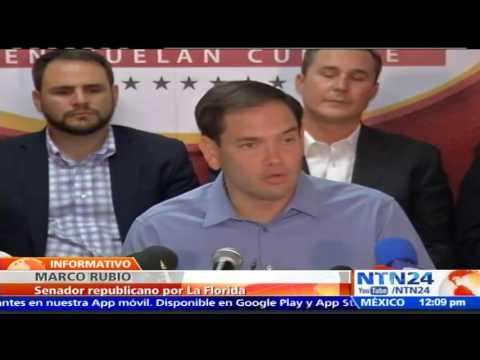 """""""Líderes chavistas son unos incompetentes y criminales"""": Marco Rubio ante crisis en Venezuela"""