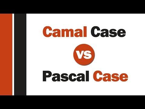 CamelCase vs pascalCase -- ( الفرق بين طرق كتابه المتغيرات فى الجافاسكربت )