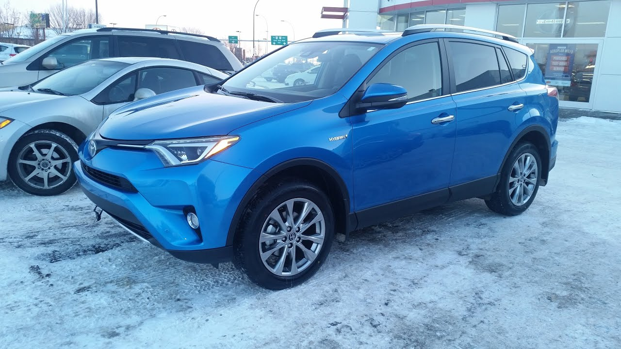 2016 Toyota Rav4 Limited Technology Package Hybrid Awd In