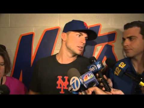 David Wright works out at Citi Field