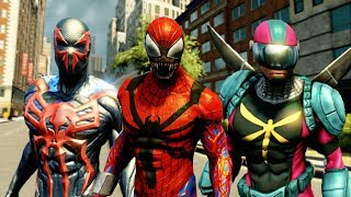 The Amazing Spider Man 2 Showcasing All Suits & How to Unlock All Suits