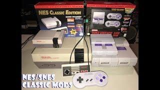 My NES/SNES Classic Mods