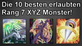 Yu-Gi-Oh!   Top 10 Rang 7 XYZ Monster!