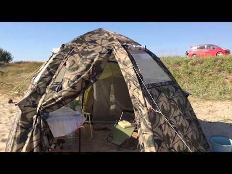 Отзыв о летней палатке Лотос Мансарда 2019