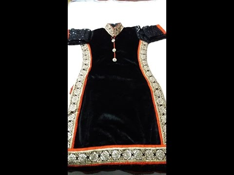 How to make a Designer Kameez in easy way (DIY)