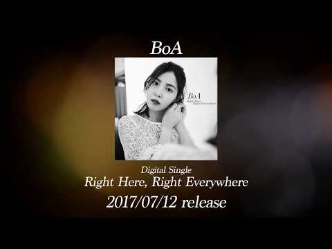 BoA / 「Right Here, Right Everywhere」試聴用映像