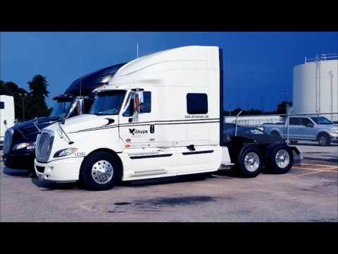 Truck walk around new International Prostar at Raven
