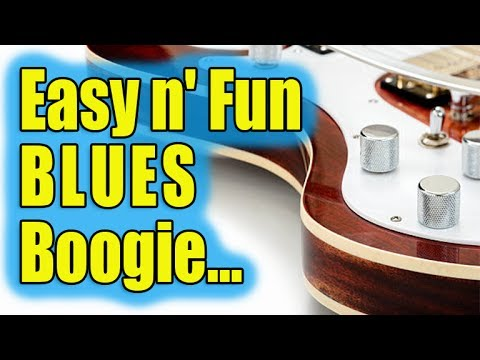 BLUES YOU CAN USE - Easy n' Fun Blues Boogie