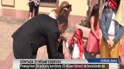 Bischwiller'de TRT Türk 23 nisan