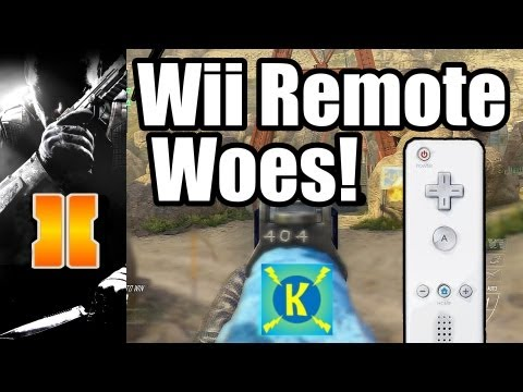 Black Ops 2 - Wii Remote Woes! (BO2 Wii U Gameplay Commentary)
