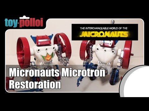 Fix it guide - Micronauts Microtron by Airfix/Mego
