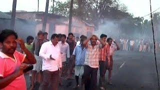 Hindistan'da gaz boru hattı patladı