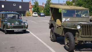 The Dereham military vehicle road run