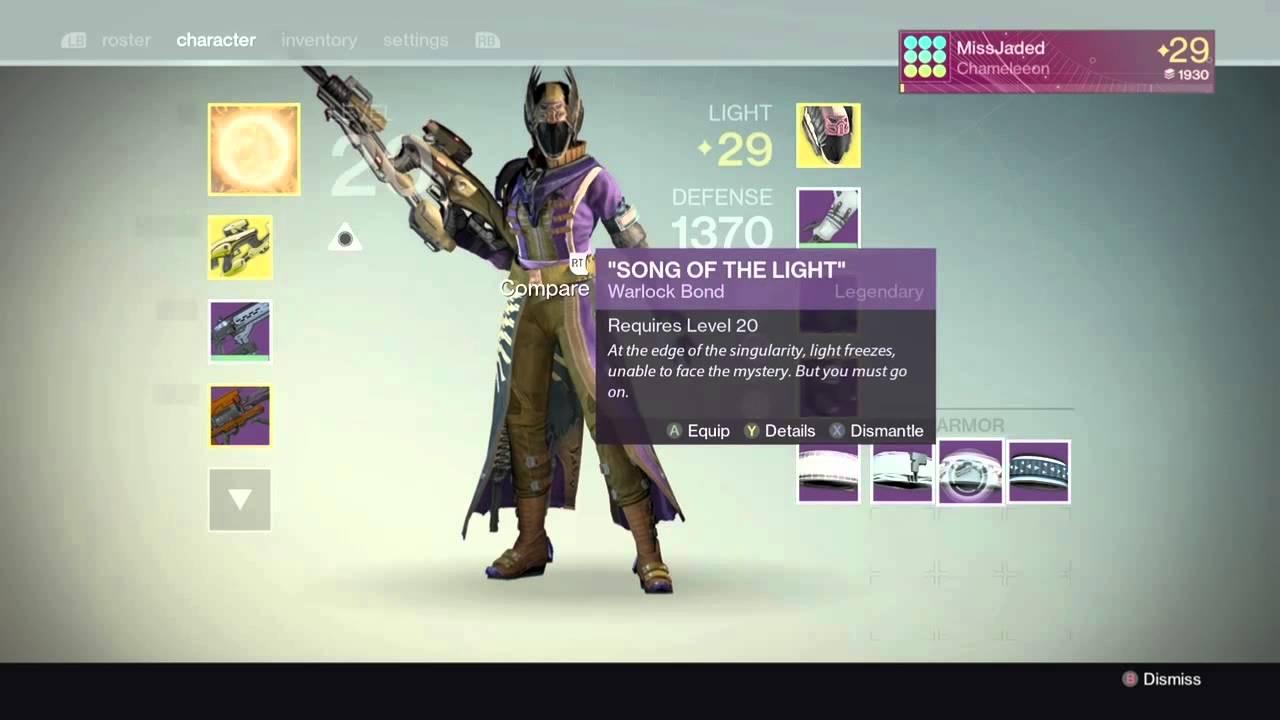 Max Light Destiny 2