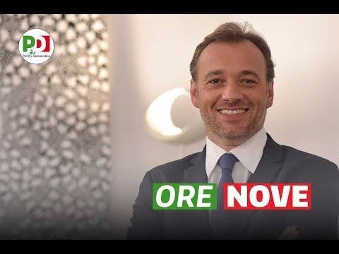 #OreNove con Matteo Richetti - 8 giugno 2017