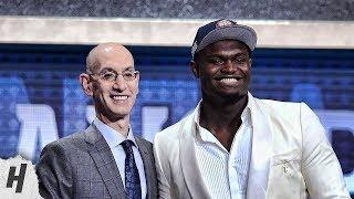 Top 10 Picks Of 2019 Nba Draft | Zion, Ja Morant, Rj Barrett & More