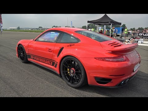 900HP Porsche 991 Turbo S PP Performance 0-294 km/h