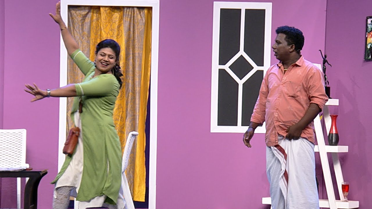 Download Thakarppan Comedy | How to deal with a difficult wife | Mazhavil Manorama