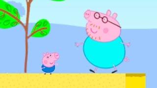 Мультик Игра Свинка Пеппа и Джордж. Детские мультики. Peppa Pig.