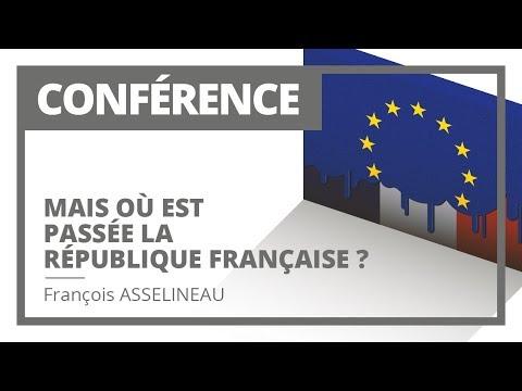 Mais où est passée la République Française ?