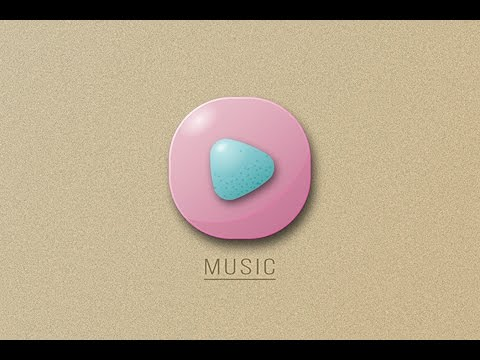 Illustrator Tutorial | New 3D Music App Icon Design ( Android/IOS )