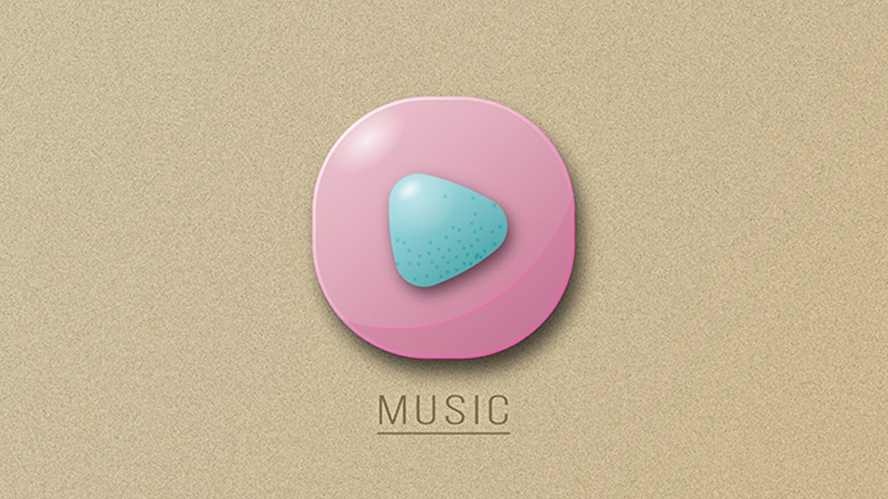 New 3D Music App Icon Design