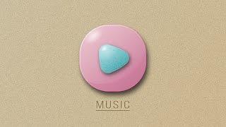 Illustrator Tutorial | New 3D Music App Icon Design ( Android/IOS )