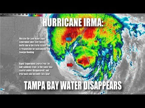 Hurricane Irma: Tampa Bay Water Disappears