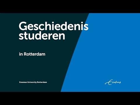 Geschiedenis studeren Erasmus - Geschiedenis studeren Rotterdam - Erasmus Universiteit Rotterdam