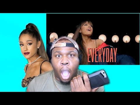 "ARIANA GRANDE FT FUTURE ""EVERYDAY VIDEO"" (REACTION)"