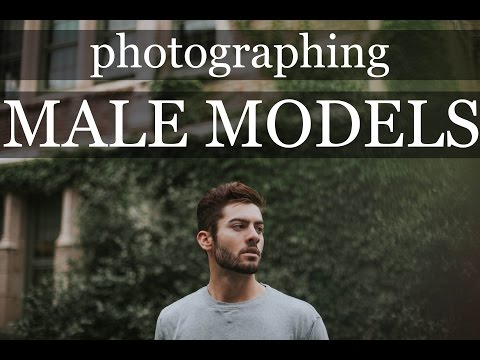 WORKING WITH MALE MODELS | nautral light guy portrait photography behind the scenes