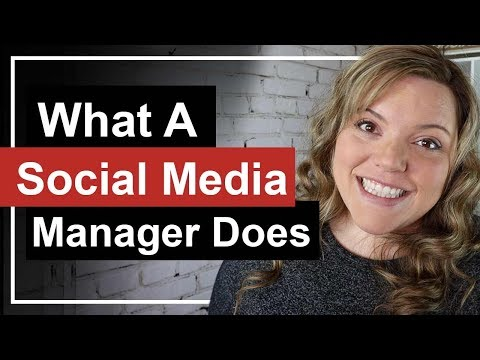 What Does A Social Media Manager Do