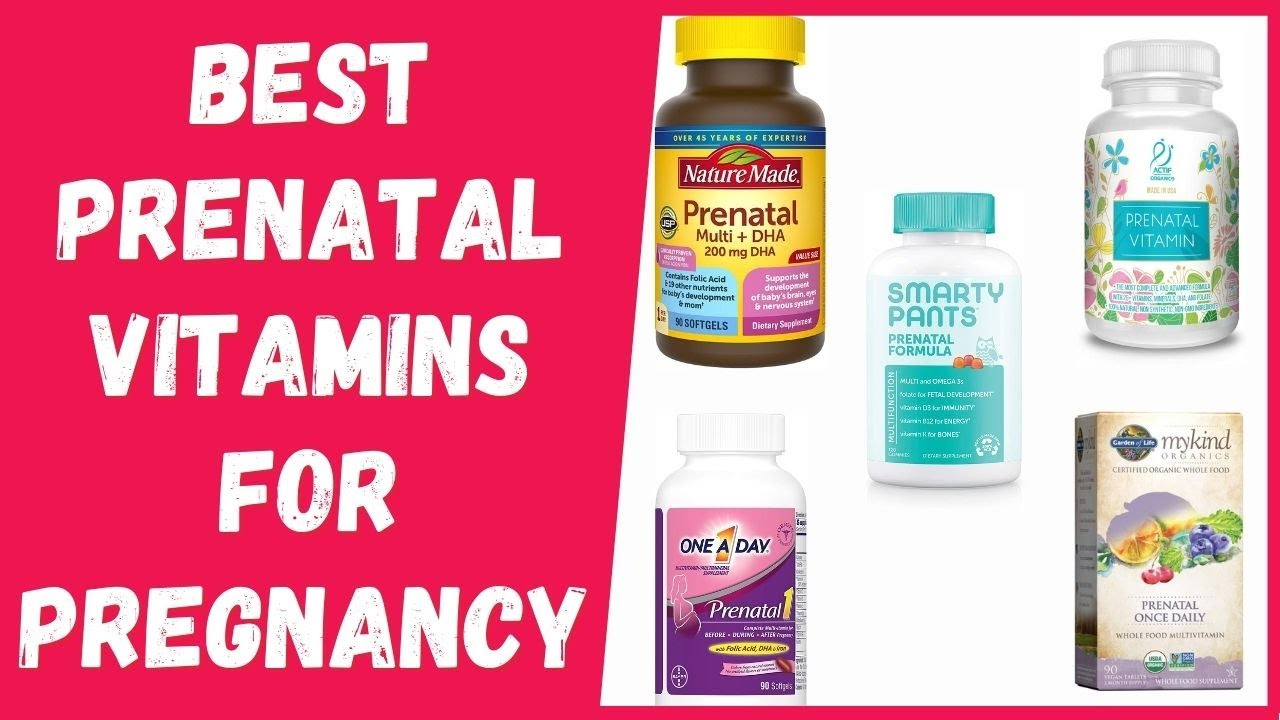 Best Prenatal Vitamins for Pregnancy in 2021 [According to A Dietitian] - YouTube