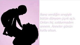 Anne İçin  En Güzel Sevgi Mesajları