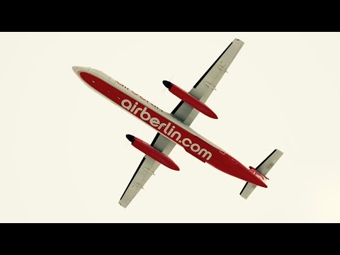 Airberlin Dash 8 takeoff at San Diego International Airport. Infinite Flight. ATC