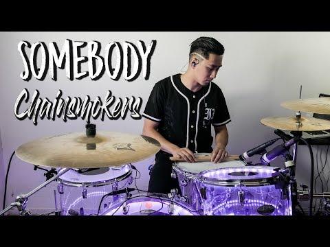 The Chainsmokers - Somebody // Vibratto Remix // Gerard Christian Drum Remix