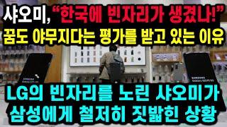 """샤오미의 꿈을 박살낸 삼성. 샤오미, """"한국에 빈자리가…"""